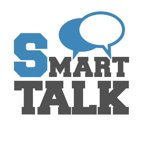 Smart Talk white bubble small