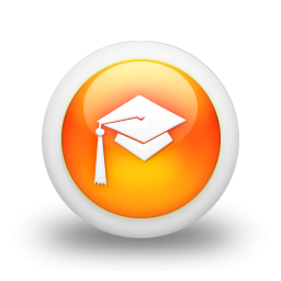 106059-3d-glossy-orange-orb-icon-people-things-hat-graduation